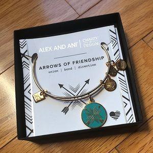 Alex And Ani Arrows of Friendship Bracelet